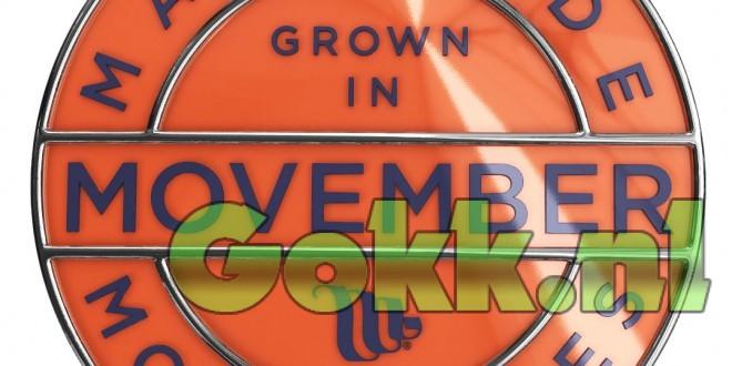 Gokk.nl doet ook mee aan Movember