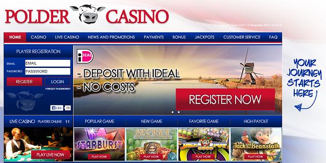 Nederlandse spelers kiezen voor Polder Casino
