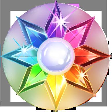 Wild Star symbool van de Starburst gokkast