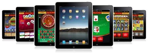 Online Gokken met uw iPad of Tablet