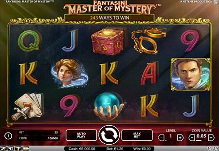 Gokken op de Fantasini: Master of Mystery Videoslot