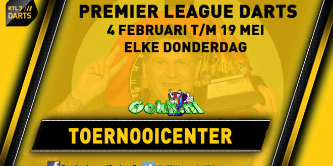 Wedden op de Premier League Darts 2016