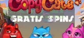 Gratis spins op nieuwe Copy Cats slot!